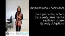 Embedded thumbnail for Enforcement, Compliance and Implementation