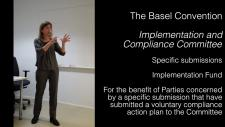 Embedded thumbnail for Compliance under the Basel Convention - Specific submissions