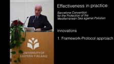 Embedded thumbnail for Effectiveness in practice