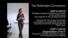 Embedded thumbnail for Compliance under the Rotterdam Convention