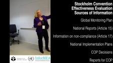 Embedded thumbnail for The Stockholm Convention Effectiveness Evaluation - Sources of Information