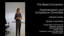 Embedded thumbnail for Compliance under the Basel Convention - General review