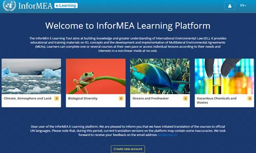 The InforMEA e-Learning platform