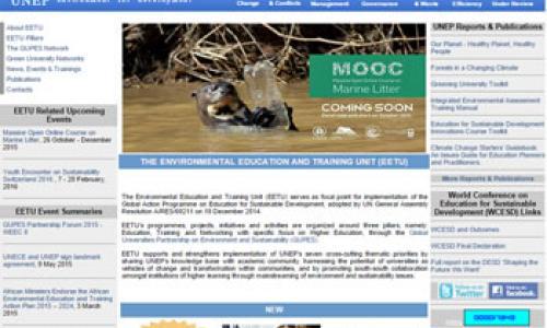 Environmental Education and Training (EET)