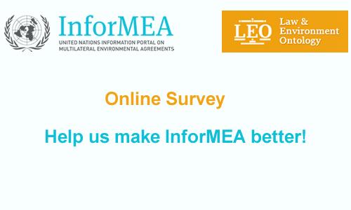 Survey on InforMEA Portal