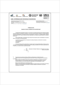 thumbnail.new?vault=Basel&file=UNEP-FAO-CHW-RC-POPS-SEC-COMM-PostalAddressChange-20180703.English.pdf