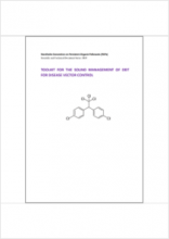 Toolkit for the Sound Management of DDT for Disease Vector